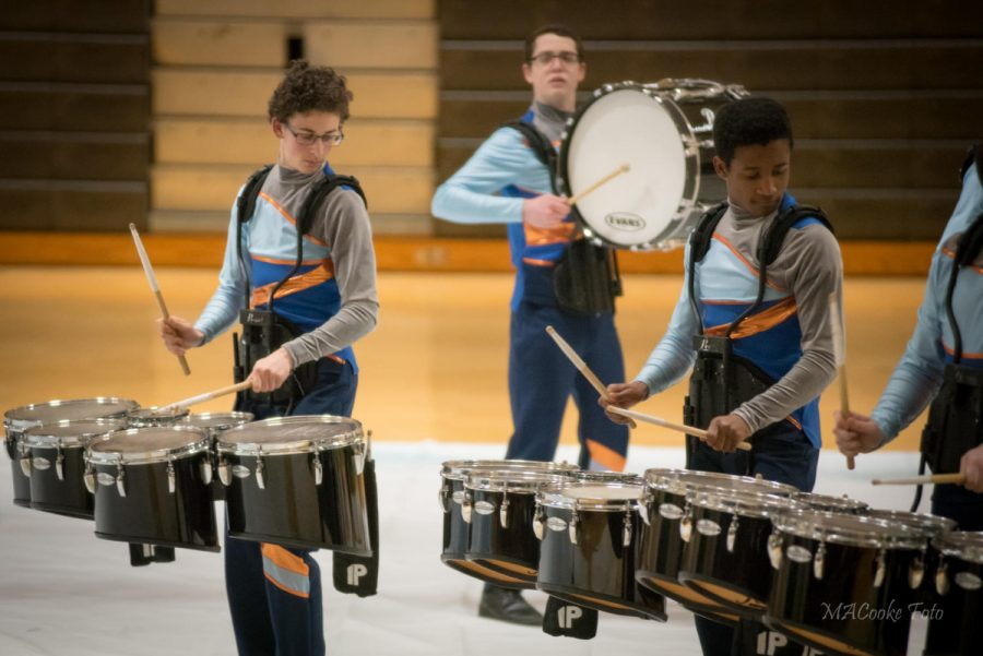 Winter drumline competes in championships