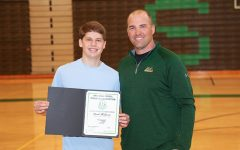 David Moskowitz receives OHSAA award