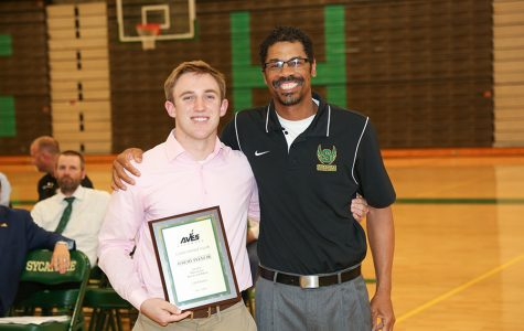 Seniors recognized for sports, 3,000 point club