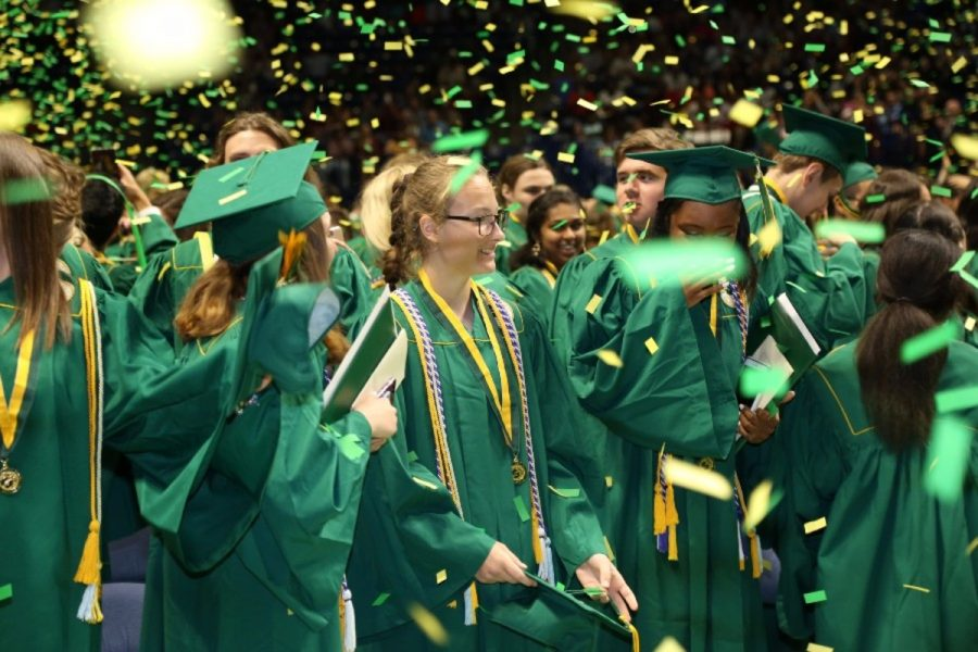 Seniors soar through graduation