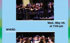 SHS orchestra concert