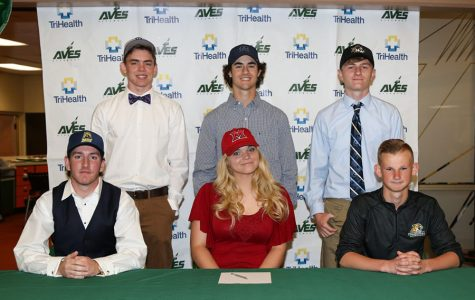 Spring athletes sign for universities