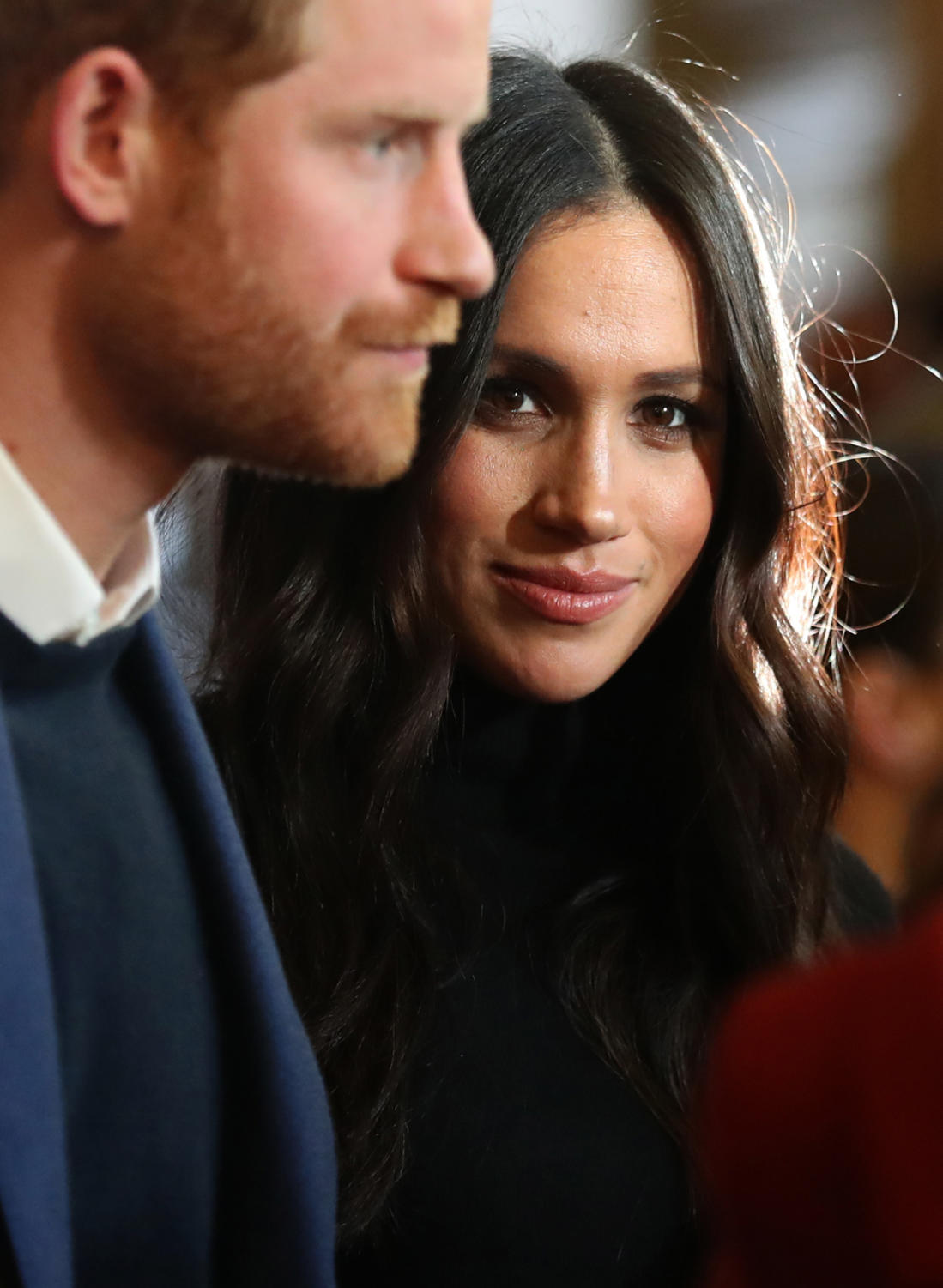 ALL EYES ON YOU. Meghan Markle is an American actress. Although she does have experience performing for an audience, a royal wedding is undoubtedly nerve-racking. Everything from Markle's dress to her makeup will be both praised and critiqued all over the media on the royal day.