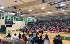Students challenge one another during Freshman Camp