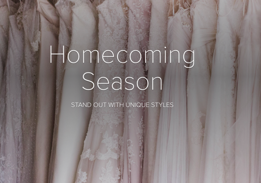 Homecoming season: stand out with unique styles