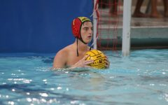 Boys JV Water Polo swims past competition