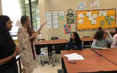 Teaching of speech-ing