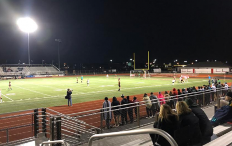 TOUGH LOSS. The Varsity girl's soccer season ended in a tournament game against Loveland on Tues., Oct. 23. The final score was Loveland 2, Sycamore 1.