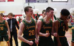 VICTORY SMILE. The next Boys Varsity Basketball game is the home opener for the season. It is a white-out. There is a tailgate before-hand and a half-time performance by the Firecrackers.
