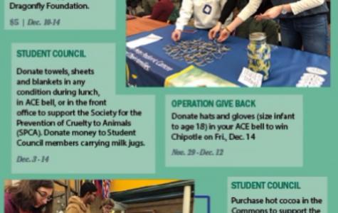Clubs fundraise ahead of holidays