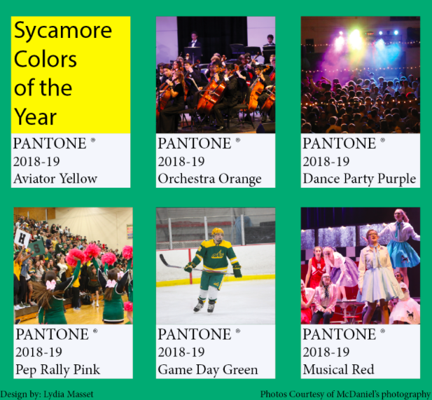 SHS colors of the year