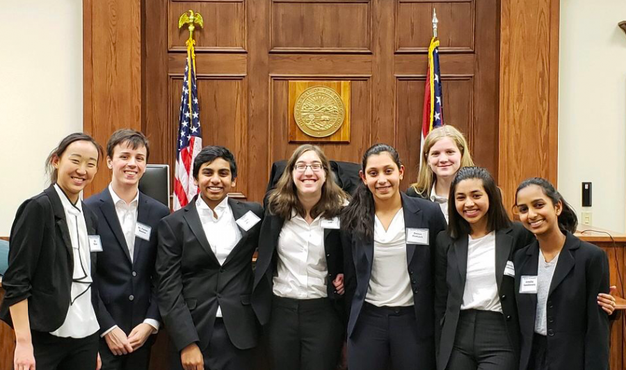 Mock Trial goes to regional competition