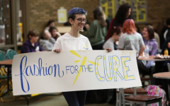 Students shave heads for awareness, hair donation