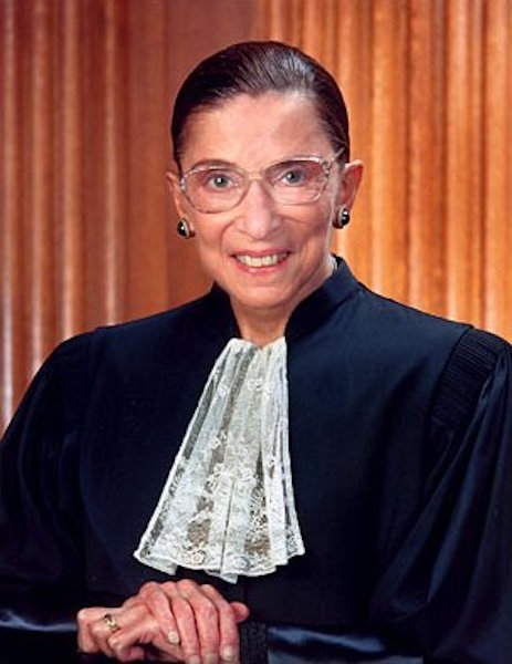 """Ruth Bader Ginsburg (RBG) is currently a U.S. Supreme Court justice. Before receiving this outstanding role, RBG was on the Court of Appeals and also attended Harvard and Cornell University. While at Harvard University, RBG attended her husband's classes while he went through treatment for cancer and took care of her young daughter. """"Women will have achieved true equality when men share with them the responsibility of bringing up the next generation,"""" RBG said, according to the Huffington Post."""