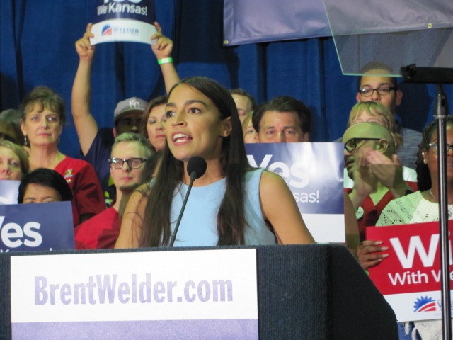 FIGHT. In Bronx, NY, Alexandria Ocasio-Cortez won the seat in the House of Representatives against a ten-term incumbent. AOC has worked with the Democratic Socialists of America community and fights for issues such as campaign finance, environmental issues, and is an outspoken critique of the current administration.