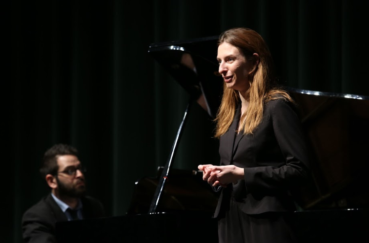 BEAUTIFUL WORDS. Poems written by youth in the Cincinnati area were composed and performed on Sat., March 2 at SHS. The Lynx Project's Autism Advocacy Project was behind the event.