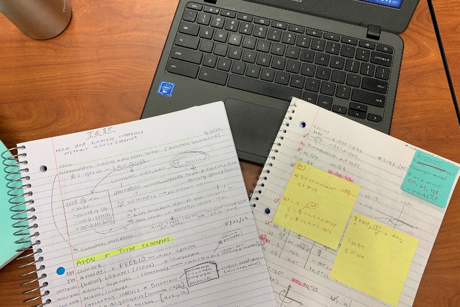 STUDY. Pictured above shows tips three, five and seven in action. While having a notetaking system has proved to be beneficial, interacting with them will solidify your understanding of the material. Additionally, you have a better chance of improving grades and efficiency by staying organized and choosing to utilize study habits that work best for you.