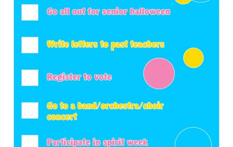 Senior bucket list