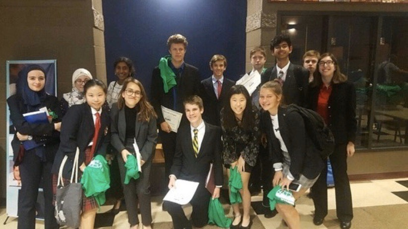 MUN.+Model+UN+students+attend+their+first+conference+of+the+year%2C+at+Wyoming+High+School.+According+to+freshman+Emma+Chi%2C+the+experience+was+%22valuable+%5Band%5D+helped+me+discover+a+new+hobby.%22