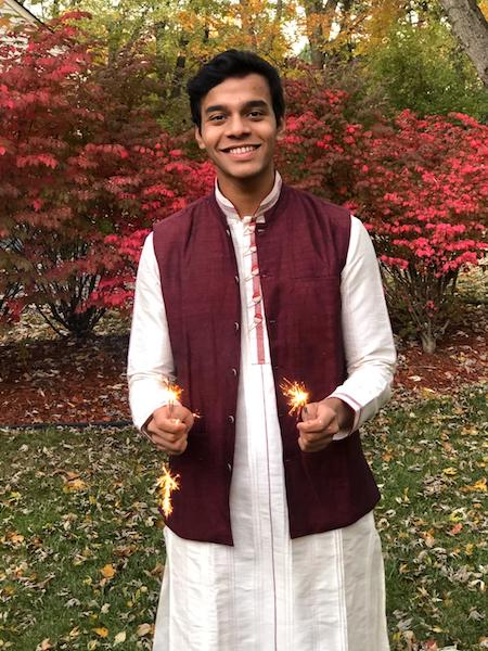 """FIRECRACKERS. Every year, the Hindu festival—Diwali, is celebrated in a pompous manner, often involving lighting up the house, dressing up, and eating delicious foods. Diwali, to Junior Aryan Vaidya, is """"lighting crackers"""" and more."""