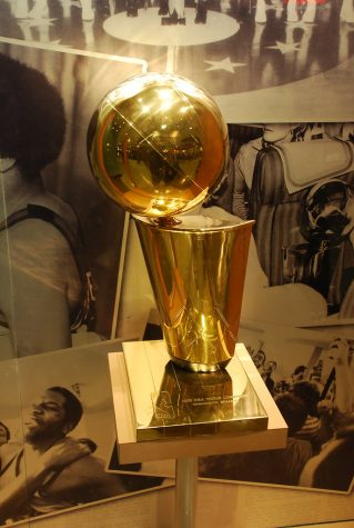 The Larry O'Brien NBA Championship Trophy.