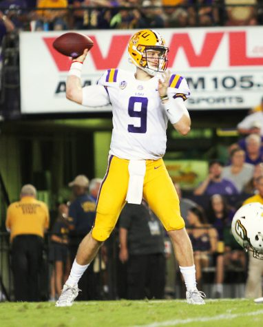 NFL DRAFT. The Bengals select quarterback Joe Burrow out of LSU with the first overall pick in the 2020 NFL Draft. What does drafting Joe Burrow mean not only for the Bengals but for Andy Dalton