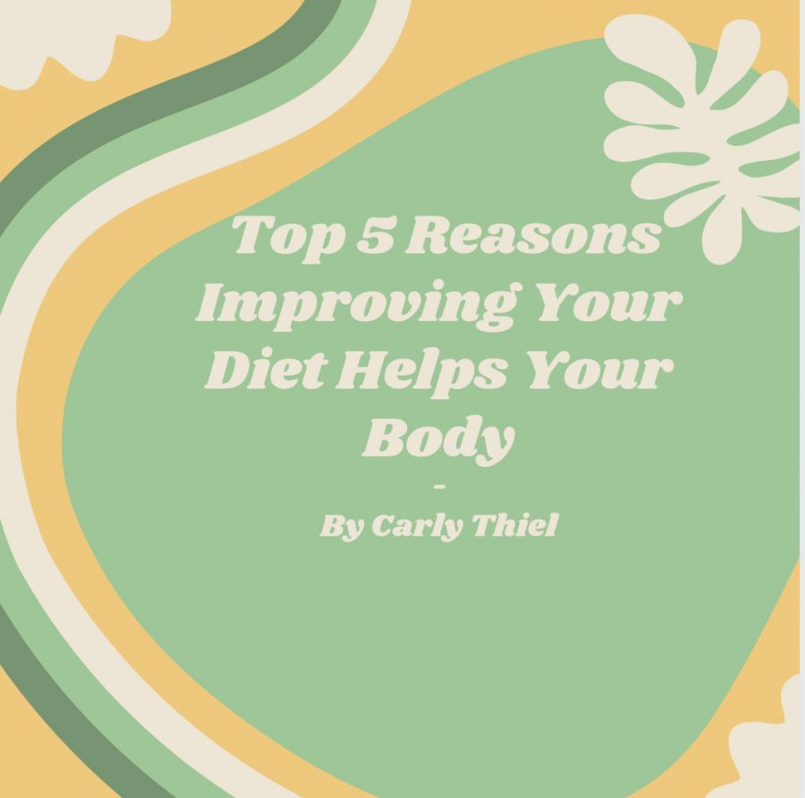 Five ways to create a healthier diet along with helping your body and mind feel happier too!
