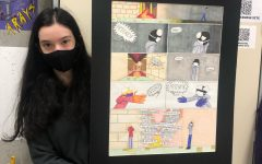 COVID CULTURE. Atara Zmora, 12, pictured above, is investigating a concept unique to 2020-2021: the ways the pandemic has affected interactions with others and personal mood.